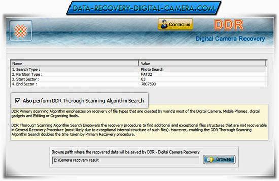 DigitalCamera DataRecovery Software