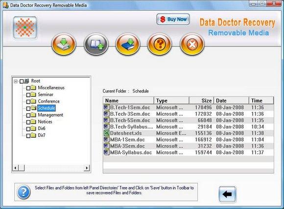 Rescue USB Media Files screen shot